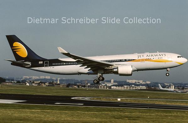 2009-07 VT-JWQ Airbus A330-202 (c/n 956) Jet Airways