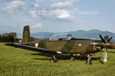2000-06 3H-FM Pilatus PC7 Austrian Air Force