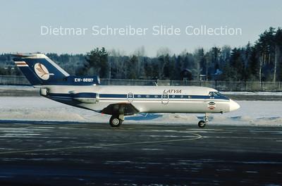1996-02 EW-88187 Yakovlev 40 (c/n 9620748) Transeast Airlines