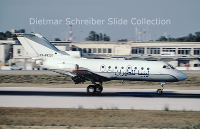 2001-07 EX-88207 Yakovlev 40 Air Libya Tibesti