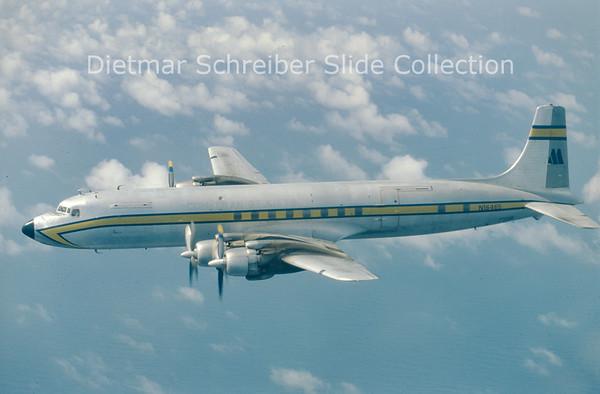 N16465 Douglas DC7