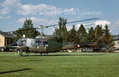 2000-06 5D-HV Agusta Bell 212 (c/n 5618) Austrian Air Force