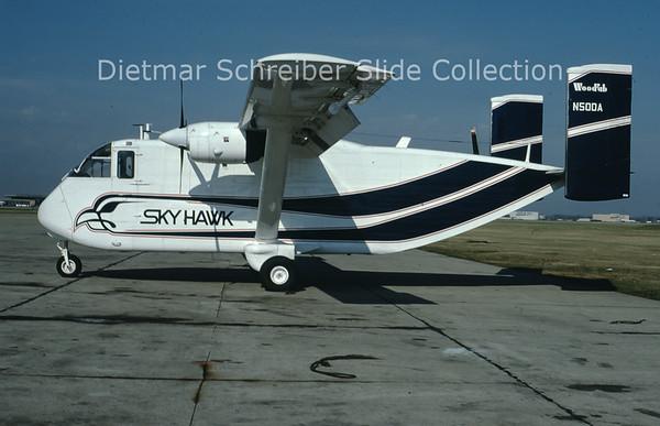 1979-11 N50DA Shorts SC7 Skyvan Sky Hawk