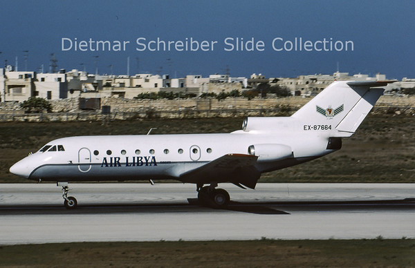 2001-09 EX-87664 Yakovlev 40 Air Libya Tibesti