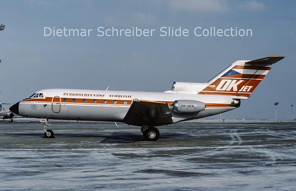 OK-HER Yakovlev 40K (c/n 9741156) CSA Czech Airlines