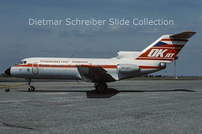 1988-05 OK-HEP Yakovlev 40K (c/n 9730555) CSA Czech Airlines