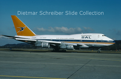 1996-03 ZS-SPE Boeing 747SP South African Airways