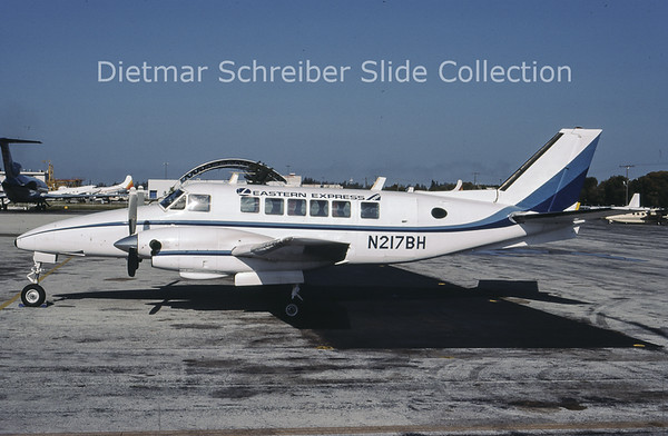 1986-09 N217BH Beech 99 Bar Harbor Airlines
