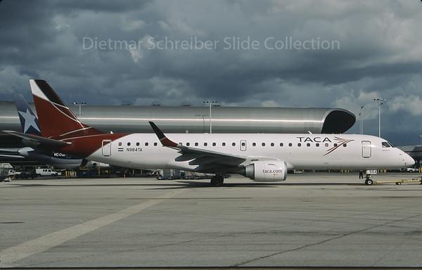 2009-10 N984TA Embraer 190 TACA International