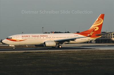 B-5465 Boeing 737-800 Hainan Airlines