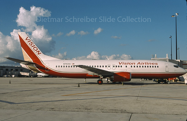 2009-10 N743VA Boeing 737-400 Vision Air