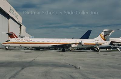 2009-10 N571SH MDD MD80 Surinam Airways