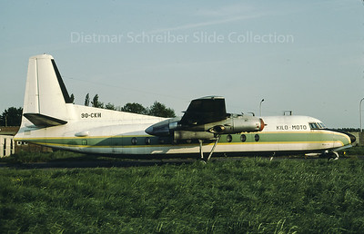 1980-05 9Q-CKH Fokker 27 Kilo Moto
