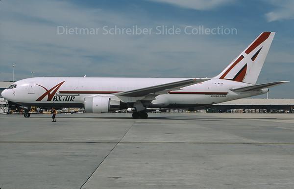 2009-10 N746AX Boeing 767-200 Airborne Express