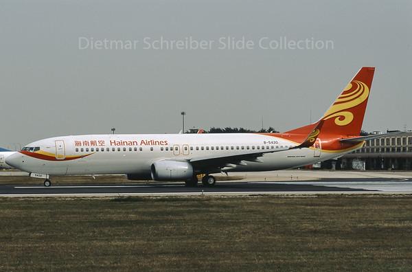 B-5430 Boeing 737-800 Hainan Airlines