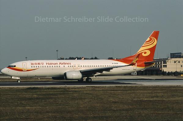 B-5406 Boeing 737-800 Hainan Airlines