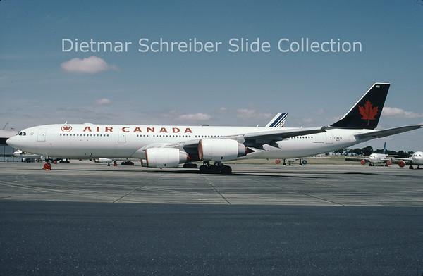 2003-7 F-WWTH Airbus A340-500 Air Canada