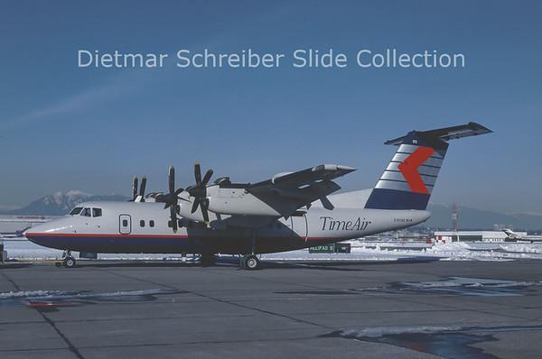 1990-10 C-GTAD DHC Dash 7-100 (c/n 26) Time Air