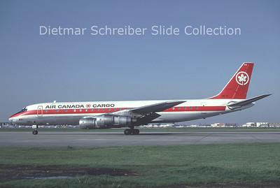 1981-10 C-FTJL Douglas DC8 Air Canada