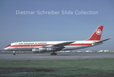 1981-10 C-FTJL Douglas DC8-54CF (c/n 45640) Air Canada