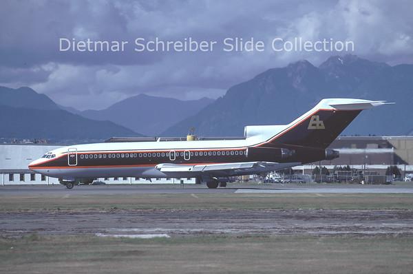 1984-10 C-GPXD Boeing 727-214 (c/n 20162)