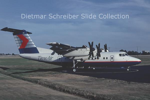 1990-10 C-GTAZ DHC Dash 7-100 (c/n 57) Time Air