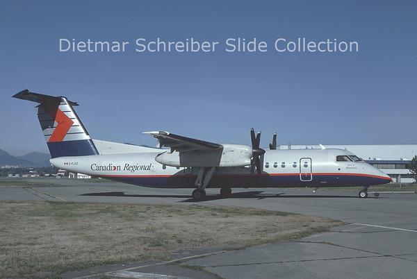 1993-10 C-FJXZ Dash DHC8-300 Canadian Regional