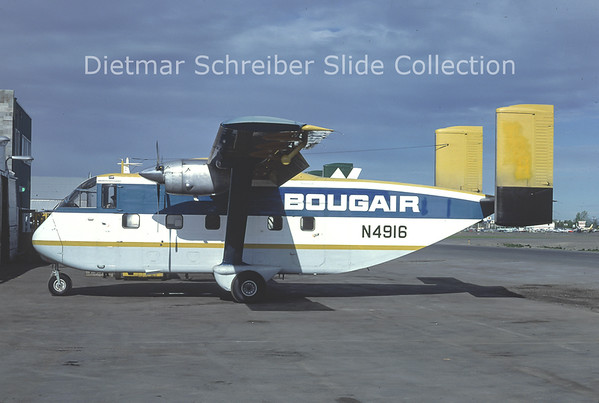 1979-06 N4916 Shorts SC7 Skyvan Bougair