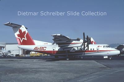 1991-10 C-GYMC DHC Dash 7-100 (c/n 59) Air BC