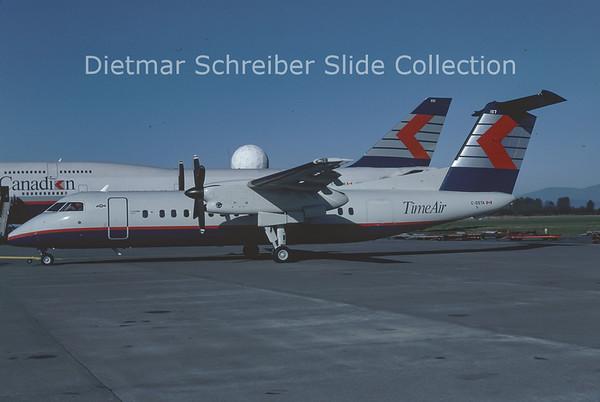 1991-10 C-GSTA Dash DHC8-300 Time Air