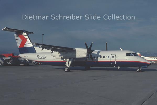 1991-10 C-FTAK Dash DHC8-300 Time Air