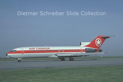 1981-10 C-GAAJ Boeing 727-233 (c/n 20941) Air Canada