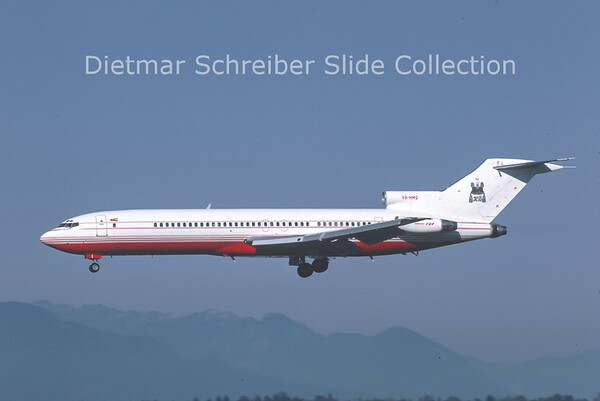 1987-10 V8-HM2 Boeing 727-2U5 (c/n 22362) Brunei - Government