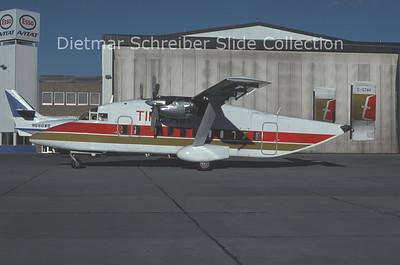 1978-10 C-FTAV Shorts SH330 (c/n SH.3007) Time Air