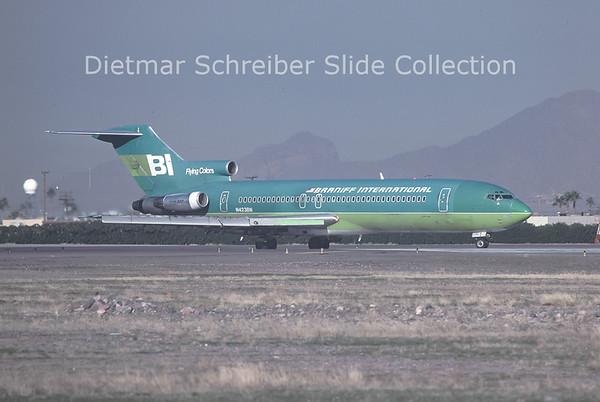 1979-01 N423BN Boeing 727-227 (c/n 20738) Braniff