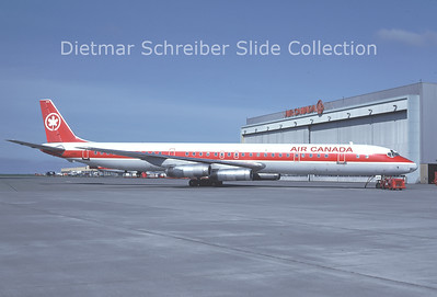 1982-10 C-FTIN Douglas DC8-63 (c/n 46036) Air Canada