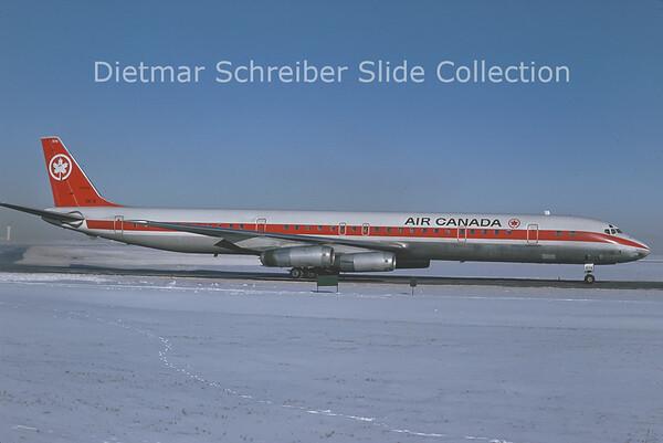 1977-01 CF-TIX Douglas DC8-63 (c/n 46115) Air Canada