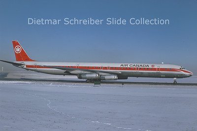 1977-01 CF-TIX Douglas DC8 Air Canada