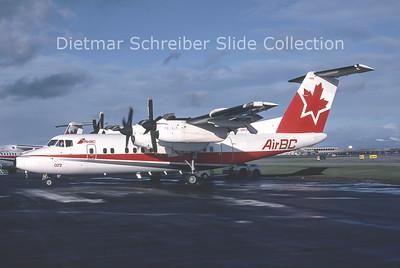 1990-10 C-GXPO DHC Dash 7-100 (c/n 021) Air BC