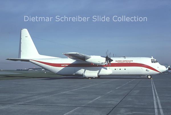 1982-10 N4170M Lockheed C130 Hercules