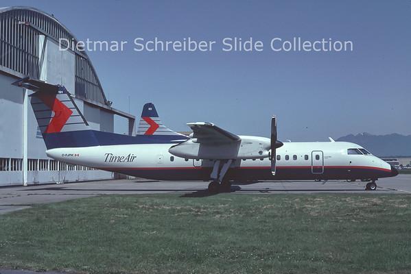 1992-10 C-FJFM Dash DHC8-300 Time Air