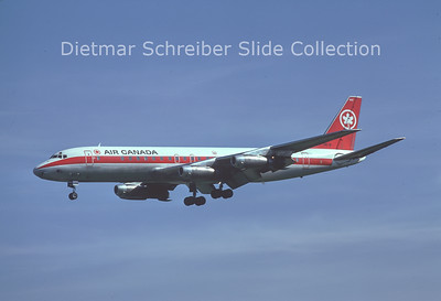 1976-10 CF-TJB Douglas DC8 Air Canada