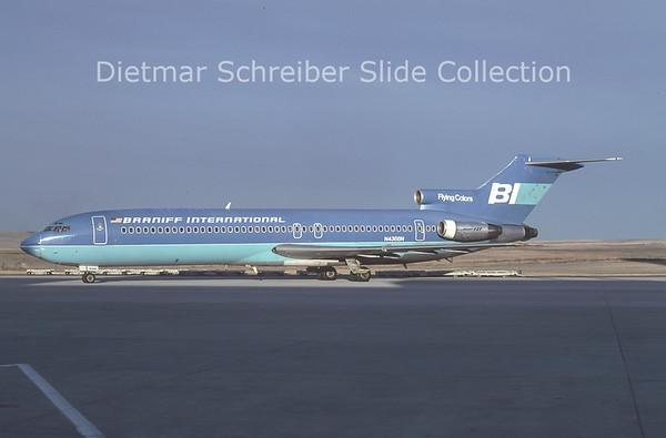 1978-10 N436BN Boeing 727-200 Braniff