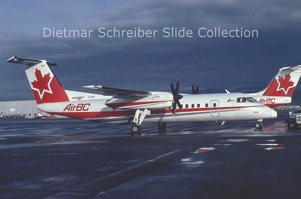 1992-10 C-GABO Dash DHC8-300 Air BC