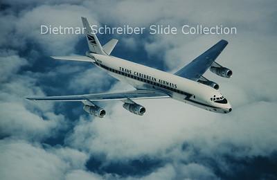1966-07 N8785R Douglas DC8-55CF (c/n 45803) Trans Caribbean Airways