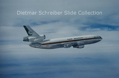 9Q-CLI MDD DC10-30 (c/n 47886) Air Zaire