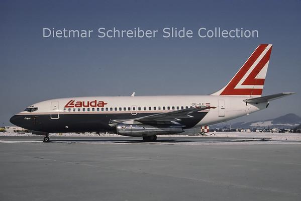 1987-02 OE-ILE Boeing 737-2T5 (c/n 22023) Lauda Air