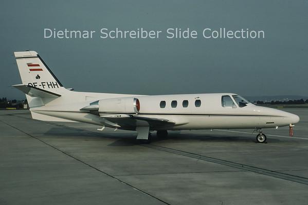 1988-08 OE-FHH Cessna 501 Citation 1 (c/n 501-0246)