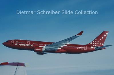 2003-05 OY-GRN Airbus A330-223 (c/n 230) Air Greenland