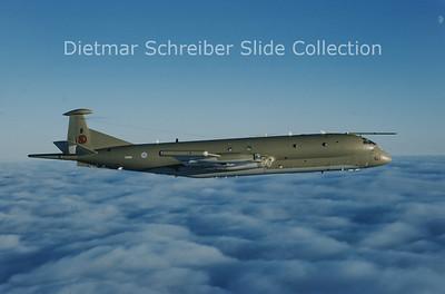 1994-11 XV252 Bae Nimrod Royal AIr Force